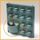 Pot XL pour mur d'intérieur Flowall