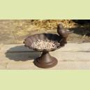 Petite mangeoire avec oiseau