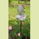 """Buste de femme sur tige """"Les roses"""" (n°2)"""